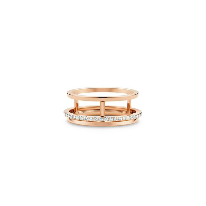 Bague Horizon en or rose