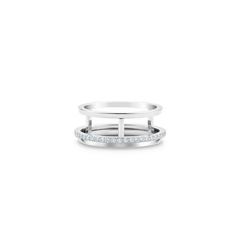 Bague Horizon en or blanc