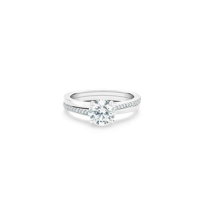 The Promise round brilliant diamond ring
