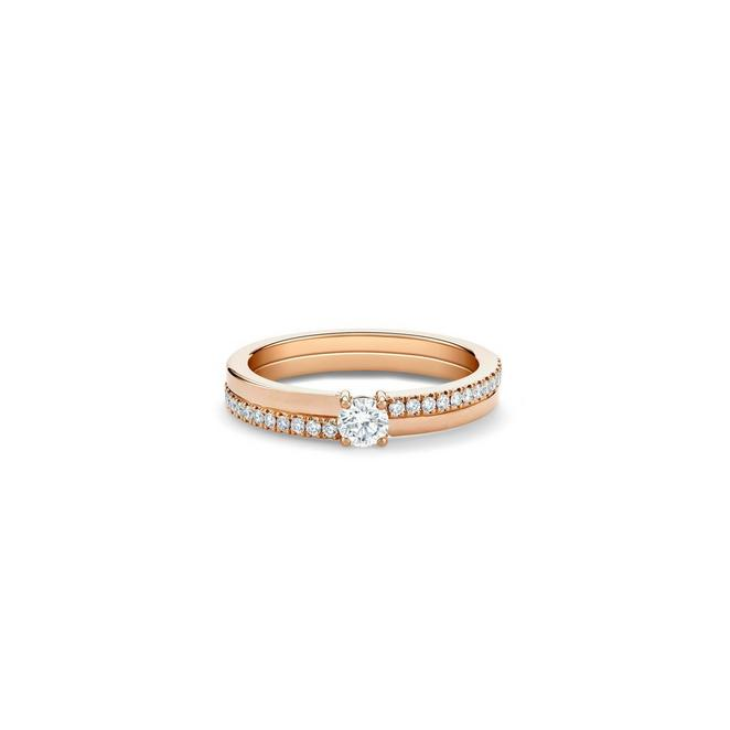 Solitaire The Promise diamant taille brillant