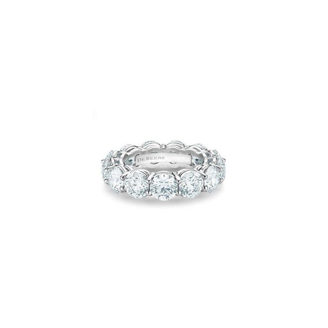 DB Classic eternity band in platinum