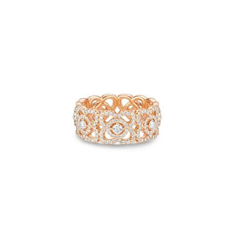 Bague Enchanted Lotus en or rose