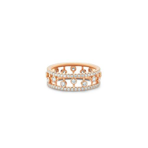 Dewdrop band in rose gold