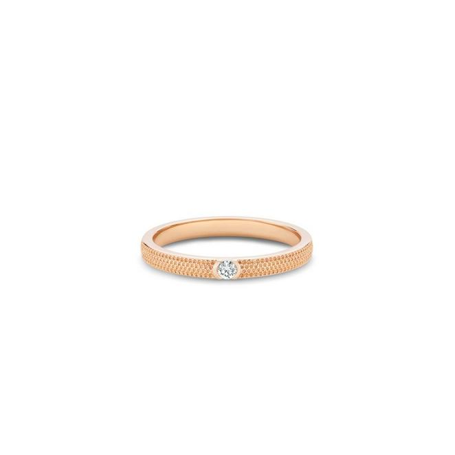 Talisman Azulea small band in rose gold