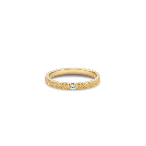 Talisman Azulea small band in yellow gold