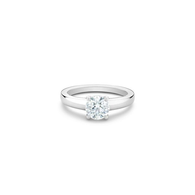 Solitaire DB Signature diamant taille brillant