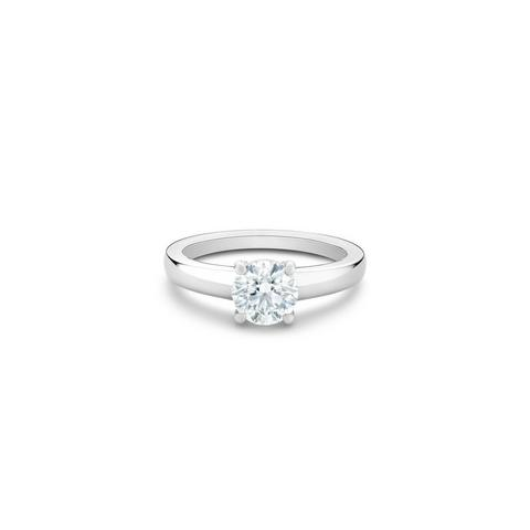DB Signature round brilliant diamond ring