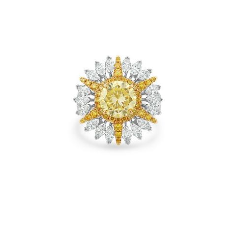 Diamond Legends by De Beers, Ra ring size 53