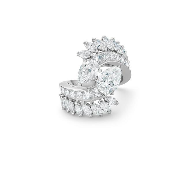 Diamond Legends by De Beers, Cupid cocktail ring