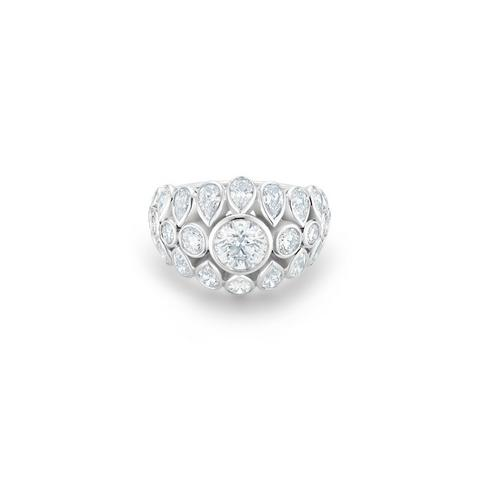 Diamond Legends by De Beers, Celestia ring size 52