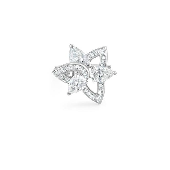 Bague Blooming Lotus, Lotus by De Beers