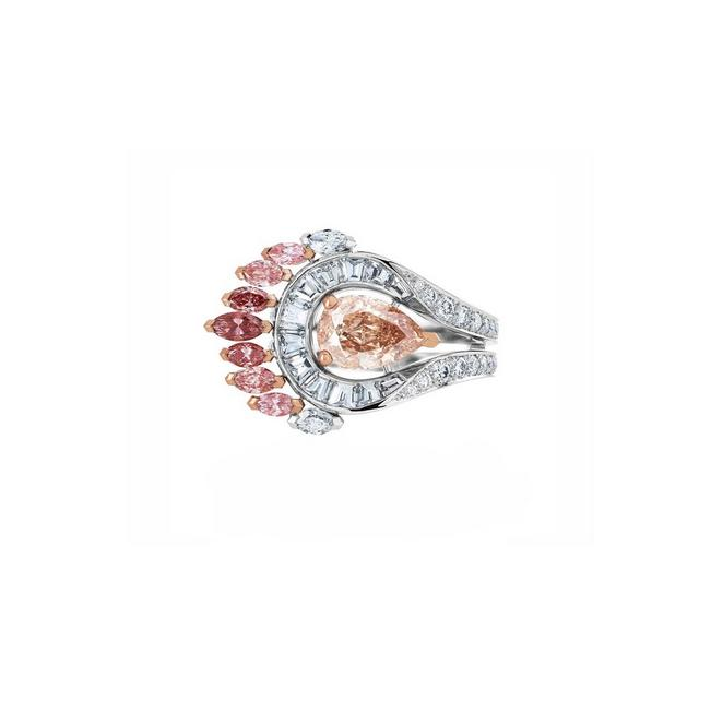 Portraits of Nature by De Beers, Greater Flamingo Ring
