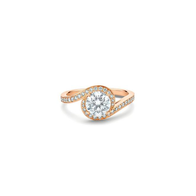 Solitaire Caress taille brillant