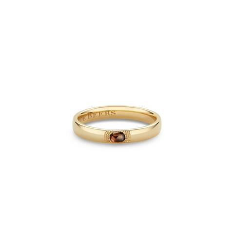 Talisman small band in yellow gold
