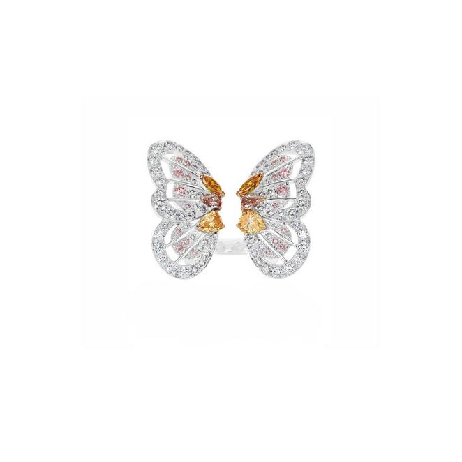 Portraits of Nature by De Beers, Monarch Butterfly Ring
