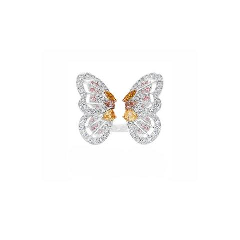 Bague Monarch Butterfly, Portraits of Nature by De Beers