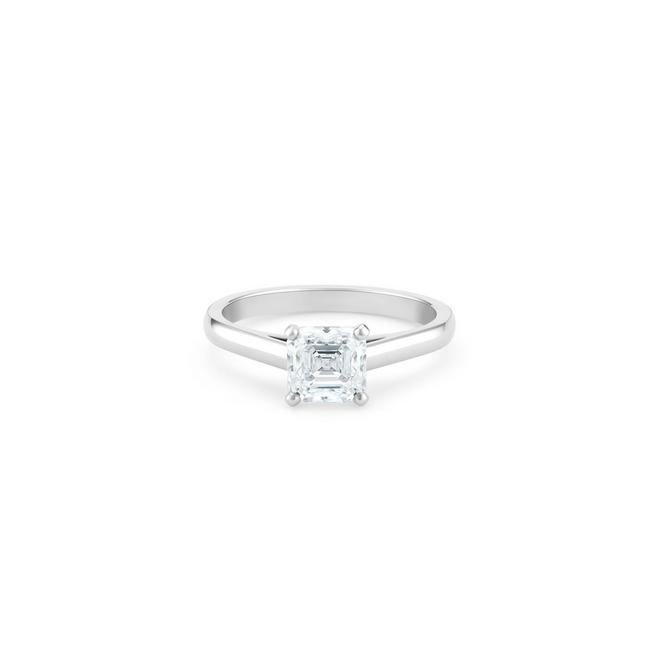 DB Classic asscher-cut diamond ring