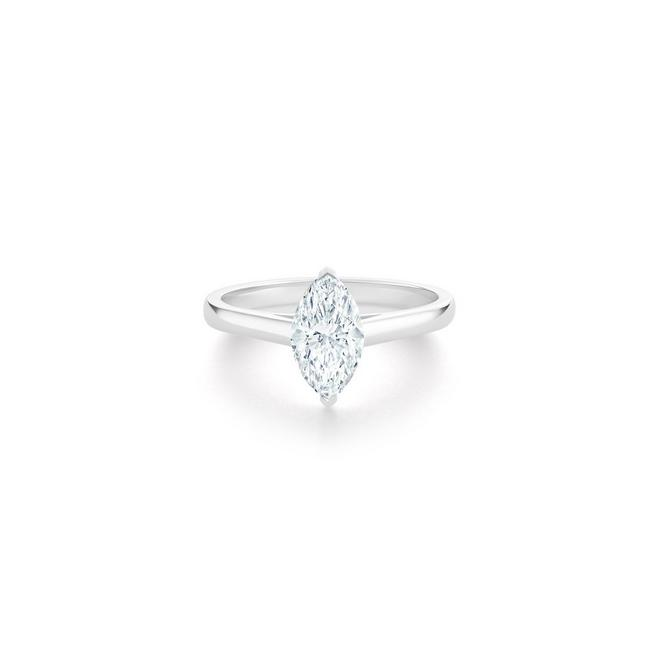 DB Classic marquise-shaped diamond ring